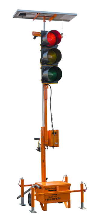 Portable traffic signals